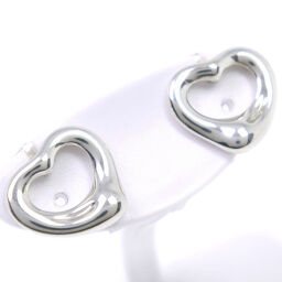 TIFFANY & Co. Tiffany Open Heart Paloma Picasso Silver 925 Ladies Earrings [Used] SA Rank
