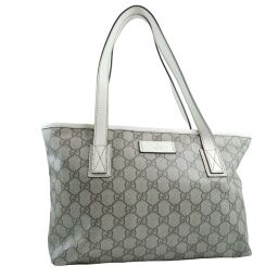 GUCCI Gucci 181086 GG Supreme Canvas Tea Ladies Tote Bag [Used]