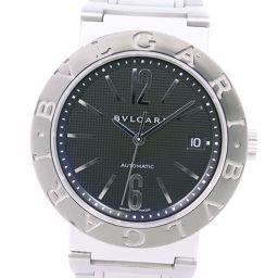 BVLGARI ブルガリ ブルガリブルガリ 新型 BB38SSAUTO ステンレススチール 自動巻き メンズ 黒文字盤 腕時計【中古】A-ランク