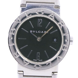<html>    <body>   BVLGARI ブルガリ ブルガリブルガリ BB26SS ステンレススチール クオーツ レディース 黒文字盤 腕時計【中古】        </body> </html>