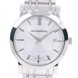 <html>    <body>   BURBERRY バーバリー BU1350 ステンレススチール クオーツ メンズ 白文字盤 腕時計【中古】        </body> </html>