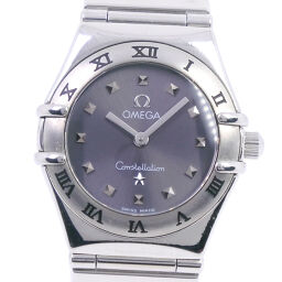 OMEGA Omega Constellation Mini My Choice 1561.51 Stainless Steel Quartz Ladies Gray Dial Watch [Used]