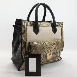 BALENCIAGA Balenciaga All Afternoon 319491 Handbag Leather Black [Used] Ladies