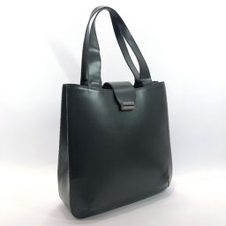BALLY Barry Tote Leather Black [Used] Ladies