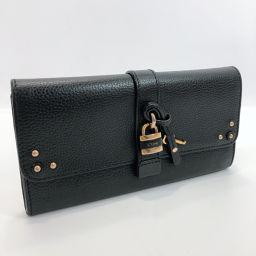 Chloe Chloe Purse Leather Black [Used] Ladies