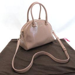Kate Spade Kate Spade Handbag Leather Pink [Used] Ladies