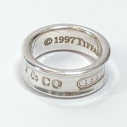 TIFFANY&Co. ティファニー リング・指輪 1837 シルバー925 C シルバー【中古】 レディース