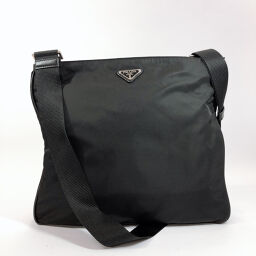 PRADA Prada Shoulder Bag Nylon Black [Used] Unisex