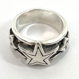 ROYAL ORDER Ring / Ring Triple Star Silver 925 14 Silver [Used] Unisex
