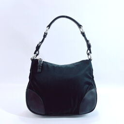 PRADA Prada Shoulder Bag Nylon Black [Used] Ladies