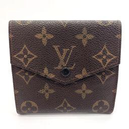 LOUIS VUITTON Louis Vuitton Tri-Fold Wallet M61660 Porto Monevier Cult Clady Vintage Monogram Canvas Brown [Used] Ladies