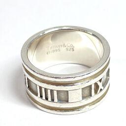 TIFFANY&Co. ティファニー リング・指輪 アトラス シルバー925 19 シルバー【中古】 メンズ