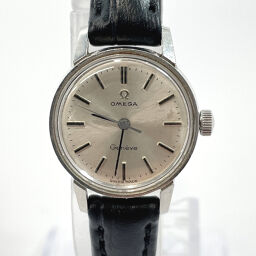 OMEGA Omega Watch Geneva Manual Winding Vintage Stainless Steel Silver Manual Winding Silver Dial [Used] Ladies