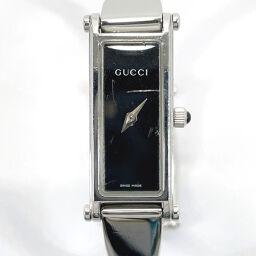 <html>    <body>   GUCCI グッチ 腕時計 1500L クォーツ ステンレススチール シルバー ブラック スイス製クオーツ ブラック文字盤【中古】 レディース        </body> </html>