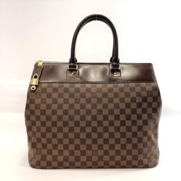 LOUIS VUITTON Louis Vuitton Tote Bag N41165 Greenwich PM Damier Canvas Brown [Used] Unisex