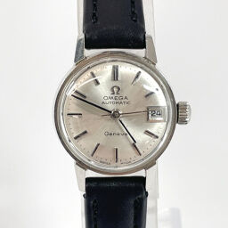 OMEGA Omega Watch 681 Geneva Automatic Vintage Stainless Steel Silver Automatic Silver Dial [Used] Ladies