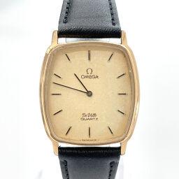 <html>    <body>   OMEGA オメガ 腕時計 1365 デビル クォーツ ヴィンテージ ステンレススチール ゴールド ブラック ゴールド文字盤【中古】 メンズ        </body> </html>