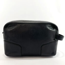 LOEWE Loewe Second Bag L10 Vintage Leather Black [Used] Men's