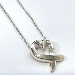TIFFANY & Co. Tiffany Necklace Paloma Picasso Rubbing Heart Silver 925 Silver [Used] Ladies