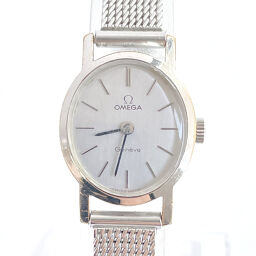 OMEGA Omega Watch Geneva Manual Winding Vintage Stainless Steel Silver Manual Winding Silver Dial [Used] Ladies