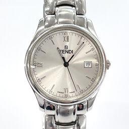 FENDI Fendi Watch 210G Quartz Stainless Steel Silver Quartz Silver Dial [Used] Men's