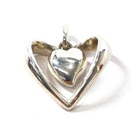 Georg Jensen Pendant Top Heart Silver 925 Silver [Used] Ladies