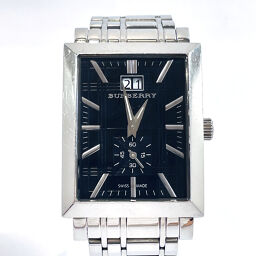 BURBERRY Burberry Watch BU1320 Quartz Stainless Steel Silver Quartz Black Dial [Used] Ladies