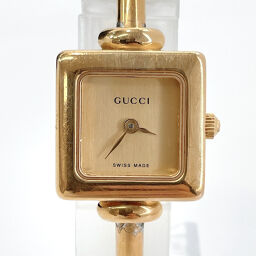 GUCCI Gucci Watch 1900L Quartz Stainless Steel Gold Quartz Gold Dial [Used] Ladies