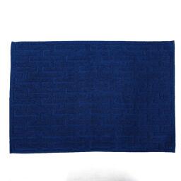 HERMES Hermes Towel Face Towel Cotton Navy [Used] Unisex