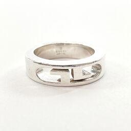 GUCCI Gucci Ring / Ring Interlocking G Silver 925 12 Silver [Used] Ladies