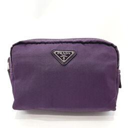 PRADA Prada Pouch 1N0021 Nylon Purple [Used] Ladies