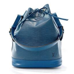 LOUIS VUITTON Shoulder Bag M44005 Noe Purse Epi Leather Blue [Used] Ladies