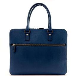 Salvatore Ferragamo Salvatore Ferragamo Briefcase FZ-24 Leather Blue [Used] Men's
