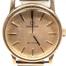 OMEGA Omega Watch 625 Devil Manual Winding Vintage Stainless Steel Gold Manual Winding Gold Dial [Used] Ladies