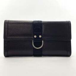 Dior Dior Purse 01TR Synthetic Leather Black [Used] Unisex