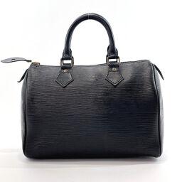 LOUIS VUITTON Louis Vuitton Handbag M59032 Speedy 25 Vintage Epi Leather Black [Used] Ladies