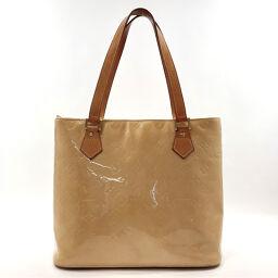 LOUIS VUITTON Louis Vuitton Handbag M91055 Houston Monogram Verni Yellow [Used] Ladies