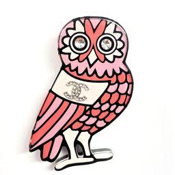 CHANEL brooch 89516 Owl Pink [Used] Ladies