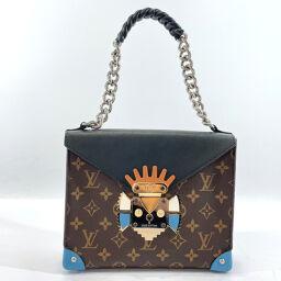 LOUIS VUITTON Shoulder Bag M50130 Pochette Mask GM Monogram Canvas Brown [Used] Ladies