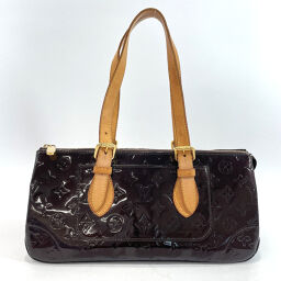 LOUIS VUITTON Louis Vuitton Handbag M93510 Rosewood Avenue Monogram Verni Purple [Used] Ladies