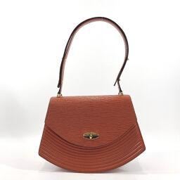 LOUIS VUITTON Shoulder Bag M52483 Tilshit Epi Leather Brown [Used] Ladies