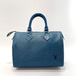 LOUIS VUITTON ルイヴィトン ハンドバッグ M43015 スピーディ 25 エピレザー ブルー【中古】 レディース