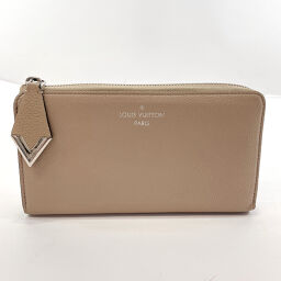 LOUIS VUITTON Louis Vuitton Long Wallet M60147 Portofeuil Comet Parnacea Leather Beige [Used] Ladies