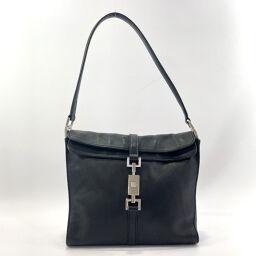 GUCCI Gucci Shoulder Bag 001.3734 Mini Jackie Shoulder Leather Black [Used] Ladies