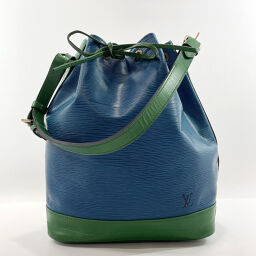 LOUIS VUITTON Shoulder Bag M44044 Noe Epi Leather Blue Green [Used] Unisex