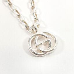 GUCCI Gucci Necklace Interlocking G Silver 925 Silver [Used] Unisex