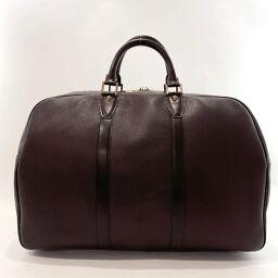 LOUIS VUITTON Louis Vuitton Boston Bag M30126 Kendal PM Taiga Purple Purple [Used] Unisex