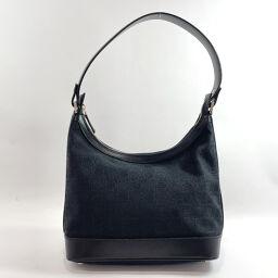 Salvatore Ferragamo Salvatore Ferragamo Shoulder Bag AU-21 3343 Canvas / Leather Black [Used] Ladies