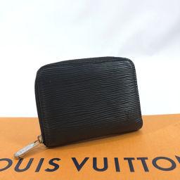LOUIS VUITTON ルイヴィトン コインケース M60152  ジッピーコインパース エピレザー ブラック【中古】 ユニセックス