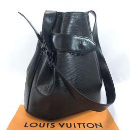 LOUIS VUITTON Louis Vuitton Shoulder Bag M80155 Sac De Paul PM Epi Leather Black Noir VI1911 Engraved [Used] Ladies